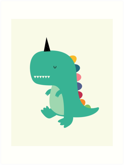Dinocorn by AndyWestface