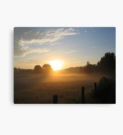 Welsh Sunrise Canvas Print