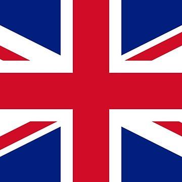 Flag of United Kingdom by ghjura
