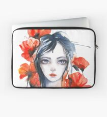 And Poppyflowers are Blossoming...  Laptop Sleeve