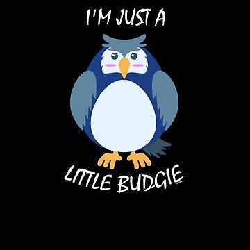 Little Budgie Bird by TomGiantDesigns