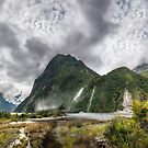 Impressive weather conditions at Milford Sound by Danielasphotos