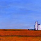 Elevator Island. The Great Plains by eolai