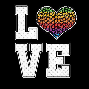 Rainbow Love by TomGiantDesigns