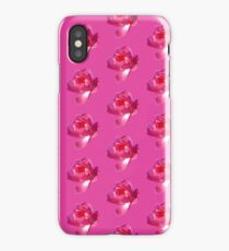 Blooming Pink Rose iPhone Case