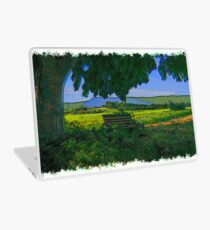 Rural area drawn Art Laptop Skin