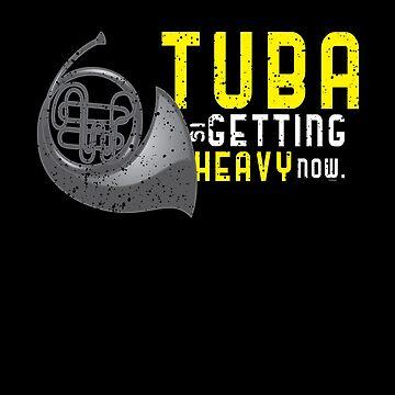 Heavy Tuba Brass Instrument by TomGiantDesigns