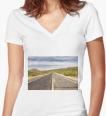 My Latest Adventure - 1 © Women's Fitted V-Neck T-Shirt