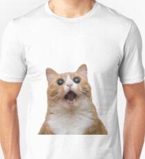 funny cat face Unisex T-Shirt