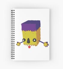 Boxy Piñatamon Spiral Notebook