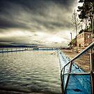 Palmy Beach Pool by Mark van den Hoek