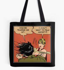 Lisa Stops the Meme Tote Bag