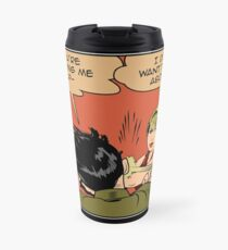 Lisa Stops the Meme Travel Mug