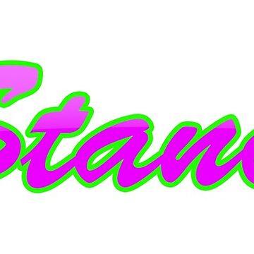 VStanced Crazy Pink - Sticker by BBsOriginal