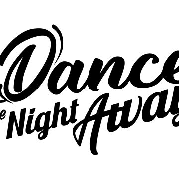 TWICE - DANCE THE NIGHT AWAY (BLACK TEXT) by Red-One48