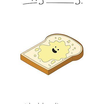 Birthday Card - Toast by maxhornewood