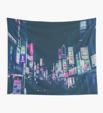Seoul Nights Wall Tapestry