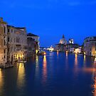 Grand Canal at Dusk by Christophe Testi