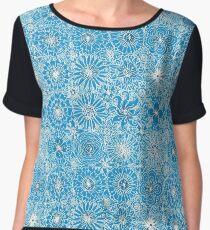 Pattern 93 Greek embroidery lace  Chiffon Top