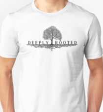 Deeply Rooted Ancestry Tree T-Shirt Unisex T-Shirt