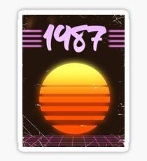 1987 Sonnenuntergang Sticker