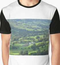 Fields of Green Graphic T-Shirt