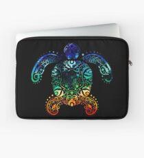 Inked Sea Turtle Laptop Sleeve