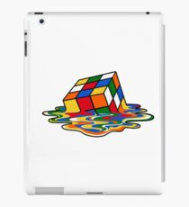 Melting Rubiks Cube: Sheldon from 'The Big Bang Theory' Cool Nerdy Gift Ideas! iPad Case/Skin