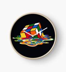 Melting Rubiks Cube: Sheldon from 'The Big Bang Theory' Cool Nerdy Gift Ideas! Clock