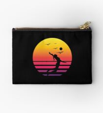 volleyball 2-01 retro sunset, #volleyball 2-01  Studio Pouch