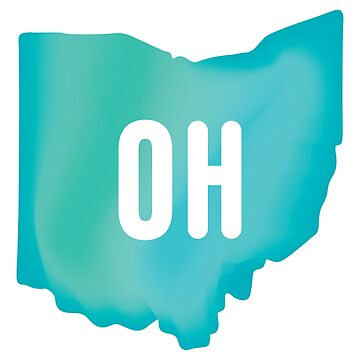 Ohio (green gradient) by mark-omlor