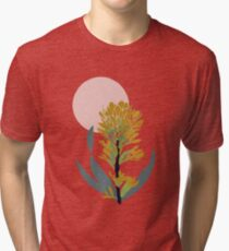 Astra Dawn Floral Tri-blend T-Shirt