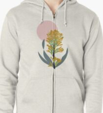 Astra Dawn Floral Zipped Hoodie