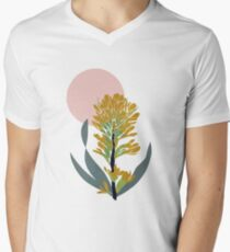 Astra Dawn Floral V-Neck T-Shirt