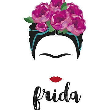 Frida Kahlo Watercolor Feminist Art by santiagodesign