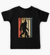 Bigfoot vintage retro style  Kids Tee