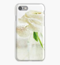 White Buttercup iPhone Case/Skin