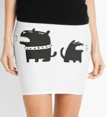 Two Dogs Mini Skirt