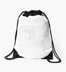 This is me Drawstring Bag