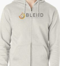 Blend Local Search Marketing Zipped Hoodie