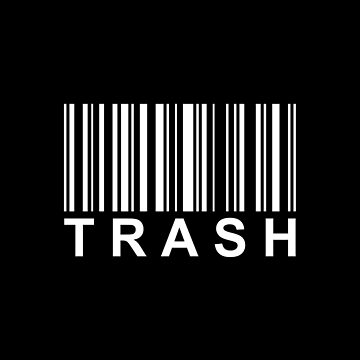 Barcode (Trash) by SheikVisions