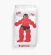 Red Guy Duvet Cover