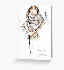 Jenny and Mille Greeting Card