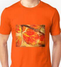 Gold Leaf Fusion Unisex T-Shirt