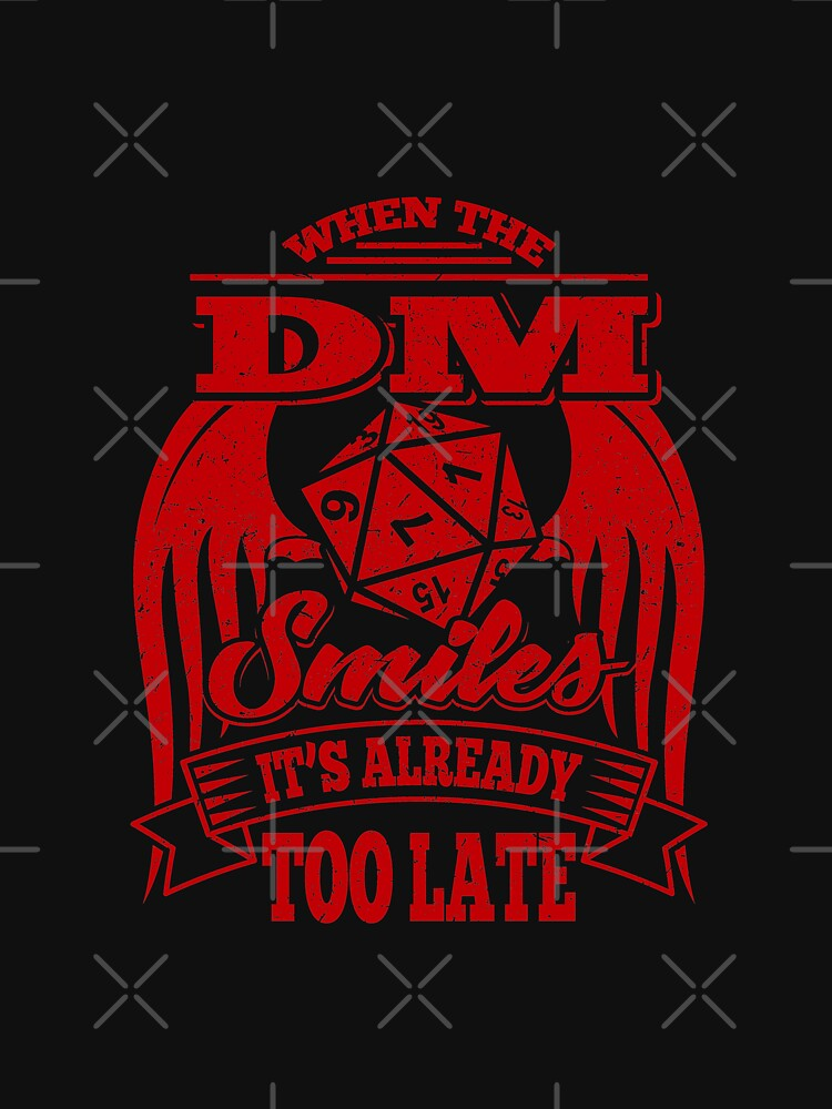 When The DM Smiles by linco11