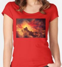 baloon valley Women's Fitted Scoop T-Shirt