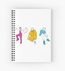 Rap Goats Spiral Notebook