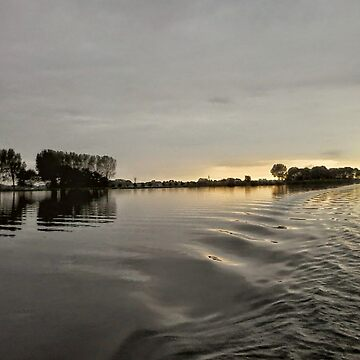 Summer Evening on the Water by hajarsdeco