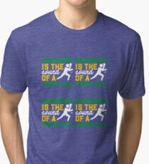 Happiness Is The Sound Of A Tennis Ball Tri-blend T-Shirt