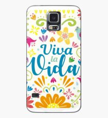 Funda/vinilo para Samsung Galaxy Viva la Vida Frida Kahlo